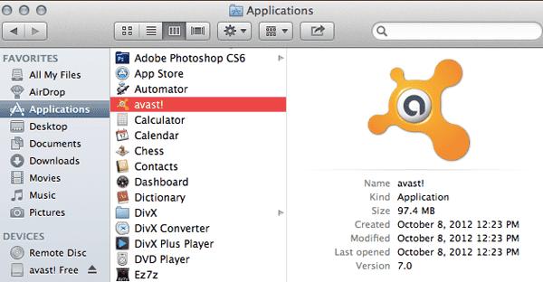 Installar antivirus pour Mac